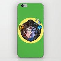 shiva iPhone & iPod Skins featuring Shiva Parvati by Karthik