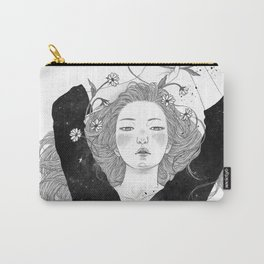 The night sky girl Carry-All Pouch