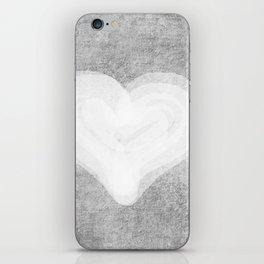 Heart of stone iPhone Skin