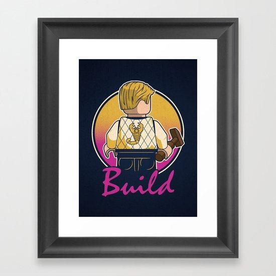 A Real Mini Hero Framed Art Print