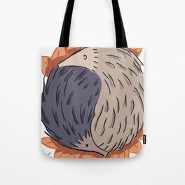 Hedgehog Yin Yang Tote Bag