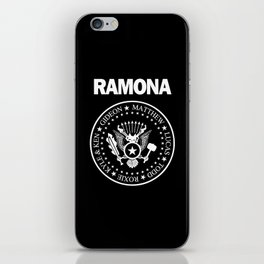 Ramona iPhone Skin