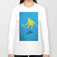 skateboard Long Sleeve T-shirts featuring skateboard  by Easyposters
