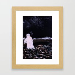 Lonely Nights Framed Art Print