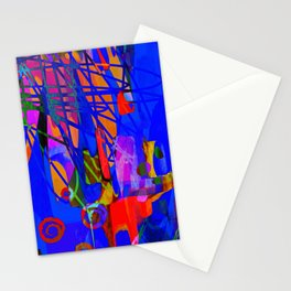 Child's Play - Abstract Painting  Stationery Cards