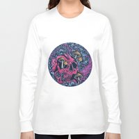 acid Long Sleeve T-shirts featuring ACID TRIP by Robin Clarijs