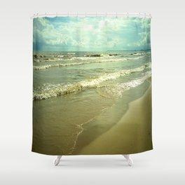 Summer on Lake Michigan Shower Curtain