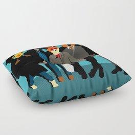 The gang Floor Pillow