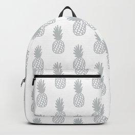 Light Grey Pineapple Backpack