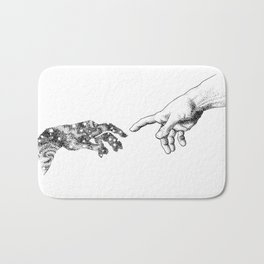 The Creation of Outer Space Bath Mat