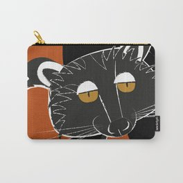 Black bear cat Carry-All Pouch