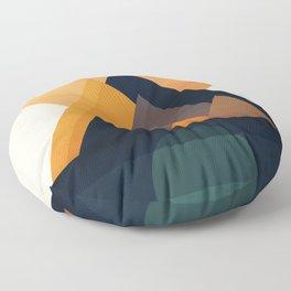 Twin Sun Floor Pillow