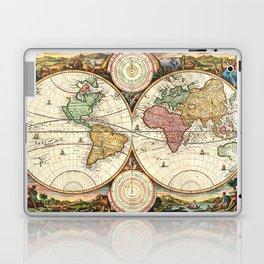 Vintage Maps Of The World Laptop & iPad Skin