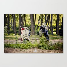 His & Hers Canvas Print