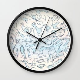 Entangled Souls Wall Clock