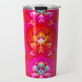 Variations on A Feather IV - Stars Aligned (Firebird Edition) Travel Mug