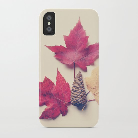 Red Maple Leaf Collection iPhone Case