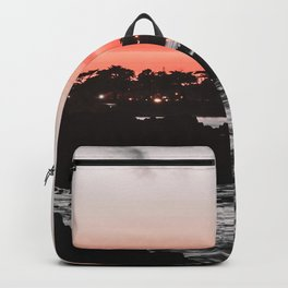 The red ink seems to be leaking again. Backpack