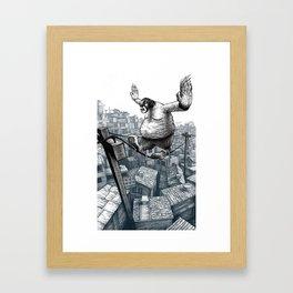 Furry Fingers Framed Art Print