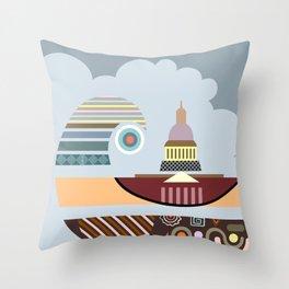 Capitol Hill Washington Throw Pillow