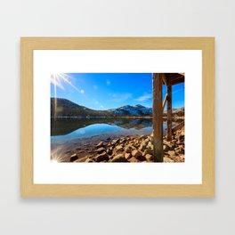 Donner Symmetry Framed Art Print