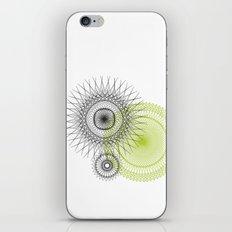 Modern Spiro Art #3 iPhone & iPod Skin
