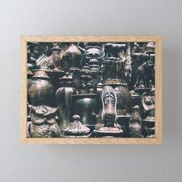 Eclectic Pottery Framed Mini Art Print