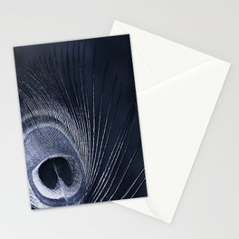 Blue Peacock Stationery Cards