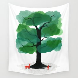Man & Nature - The Tree of Life Wall Tapestry