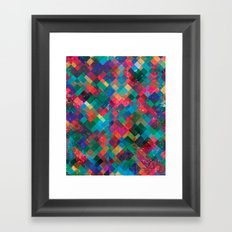 Ptrn Framed Art Print