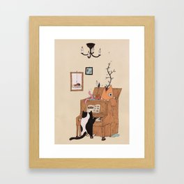 the Pianist Framed Art Print