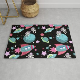 Space Cats , Astronaught cats Rug