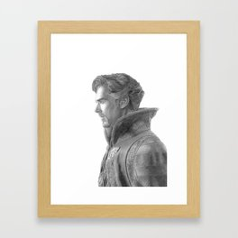 Dr. Strange Framed Art Print