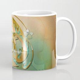 3d graffiti - Art Nouveau 'Tablet Coffee Mug