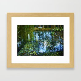 The Marsh by Brian Vegas Framed Art Print