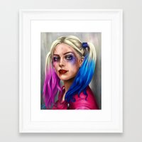 harley Framed Art Prints featuring Harley by Lara Cremon