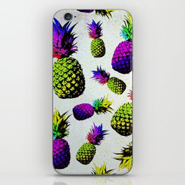 colorful pineapple pattren iPhone Skin