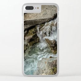 Any Which Way - Glacier NP Clear iPhone Case