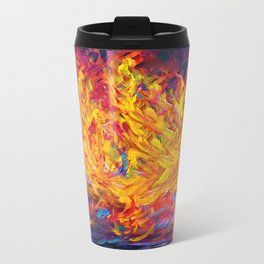 Fire and Passion - Here's to New Beginnings Travel Mug