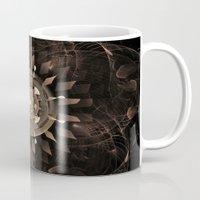 clockwork Mugs featuring Clockwork by CreativeByDesign