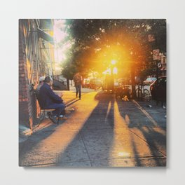 Brooklyn Sunrise Metal Print