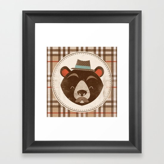 Uncommon Creatures - Bear Framed Art Print