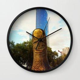 giant finger Wall Clock