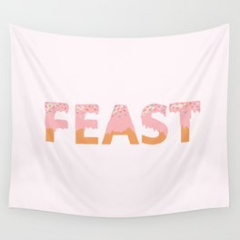 Feast I Wall Tapestry