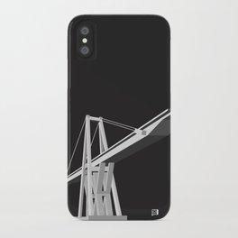 Maracaibo Lake Bridge BLACK iPhone Case