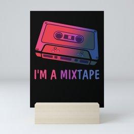 My Mixtapes Bisexual Pride - I'm a Mixtape Bisexual Mini Art Print
