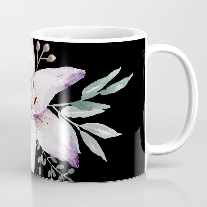 Lilium black Coffee Mug