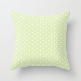 Pretty and Green Throw Pillow