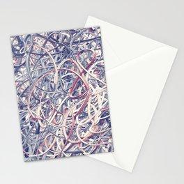 Digital Pollocks Stationery Cards
