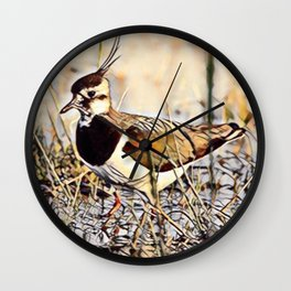 Lapwing Wall Clock